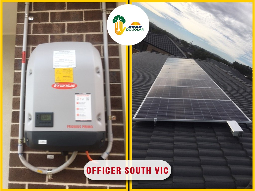 solar installation work officer south vic