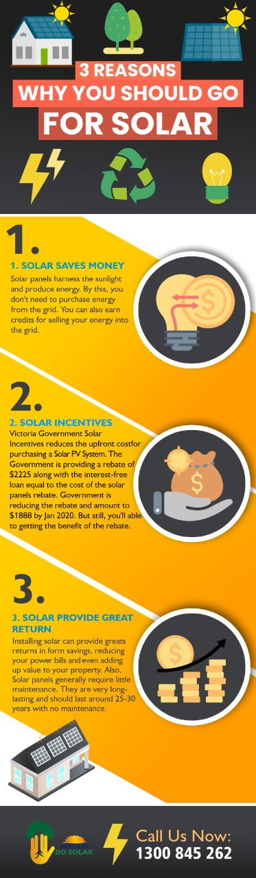 3 Reasons Why You Should Go for Solar